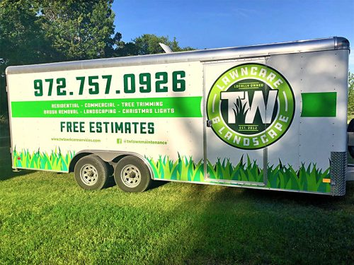 TW Lawn Care Trailer