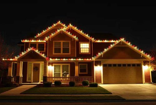Christmas Lighting Installation in Waxahachie TX